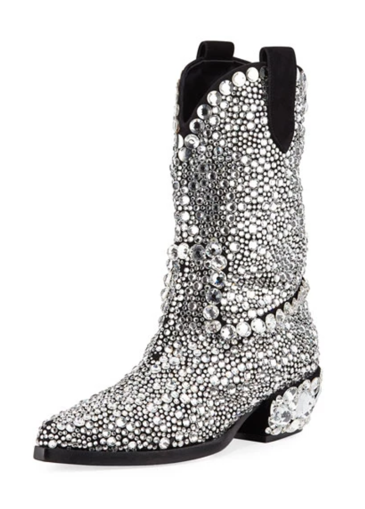 3a51712ab9d WHY. NO. – The Rhinestone Cowboy Boot – NORMALLY STYLISH